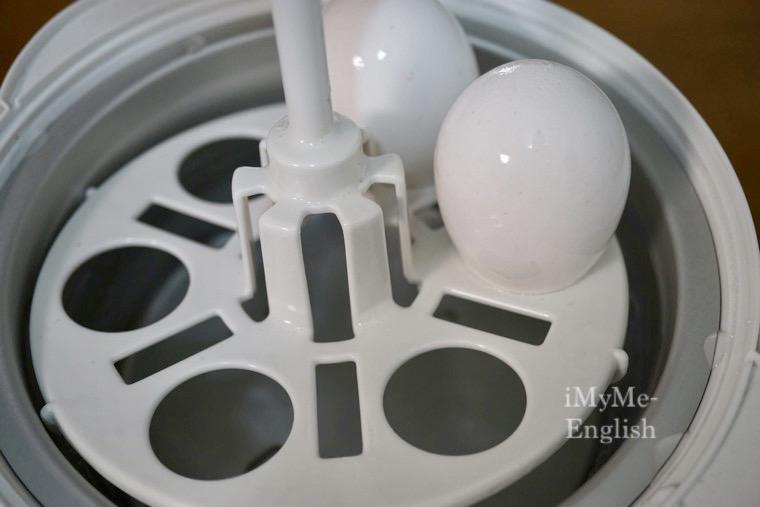 象印 温泉たまご器 マイコン式 EG-HA06-WBの写真