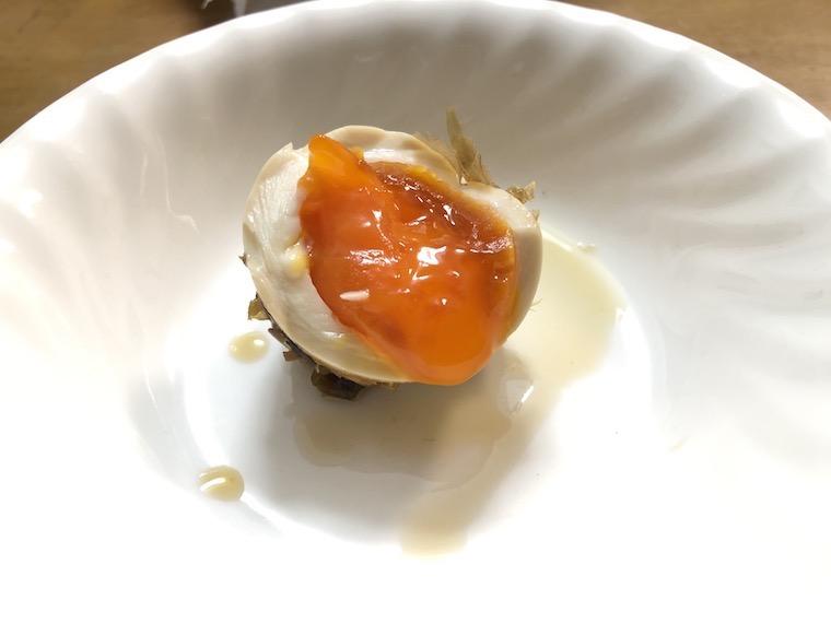 煮玉子の写真