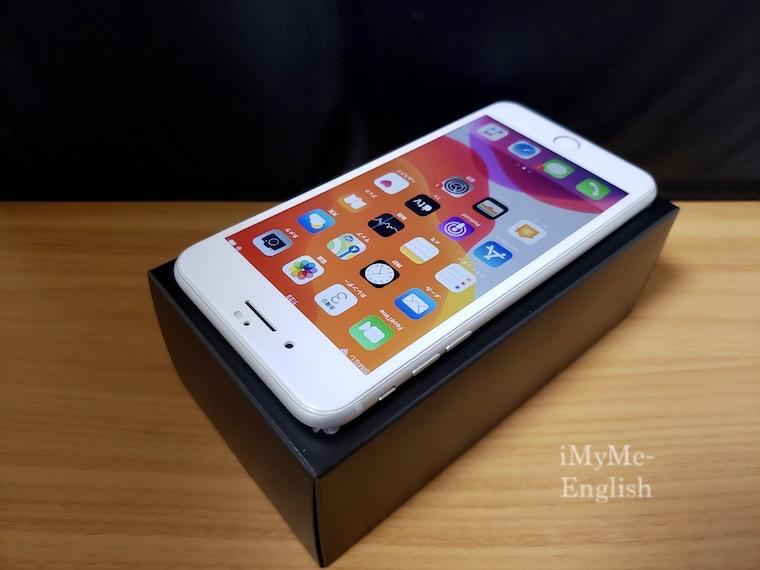 「Apple iPhone 8 Plus 256GB シルバー。アイフォーン」の画像