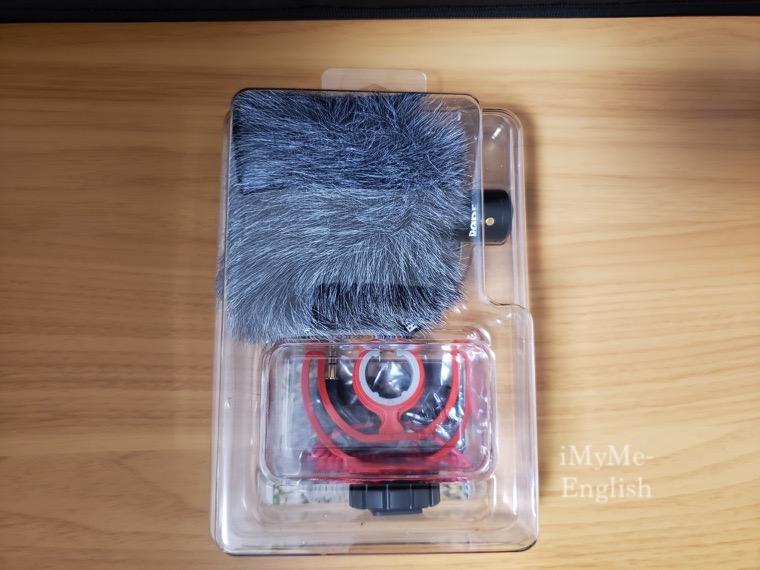「RODE (ロード)VideoMicro 超小型コンデンサーマイク」の写真。