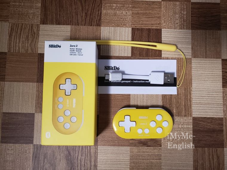 8BitDo 「Zero2 ゲームコントローラー」の写真5