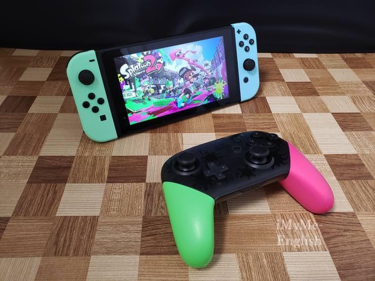「Nintendo Switch Proコントローラー スプラトゥーン2エディション」の写真23
