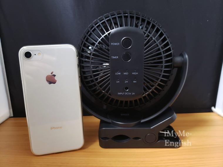 サンワサプライ「USB扇風機 400-TOY039BK」サンワダイレクトの写真1