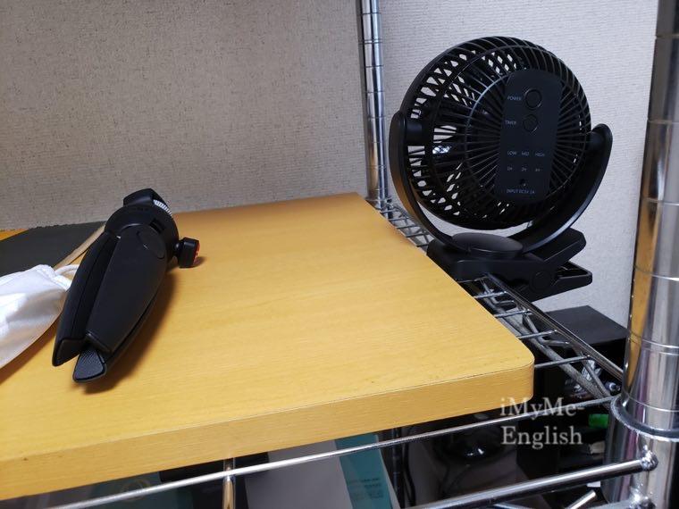 サンワサプライ「USB扇風機 400-TOY039BK」サンワダイレクトの写真12