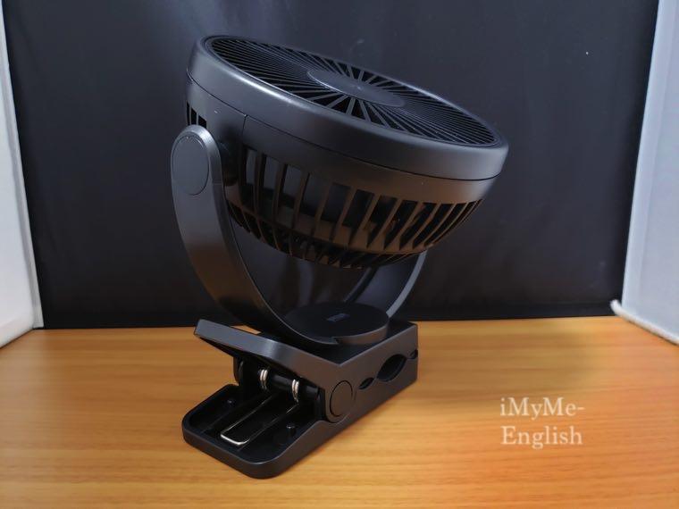 サンワサプライ「USB扇風機 400-TOY039BK」サンワダイレクトの写真6