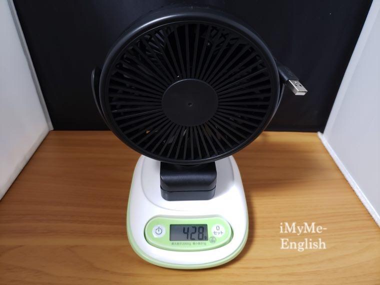 サンワサプライ「USB扇風機 400-TOY039BK」サンワダイレクトの写真8