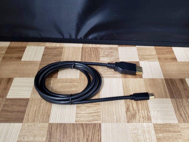 「エレコム ミニディスプレイポートケーブル CAC-DPM1215BK」の写真4