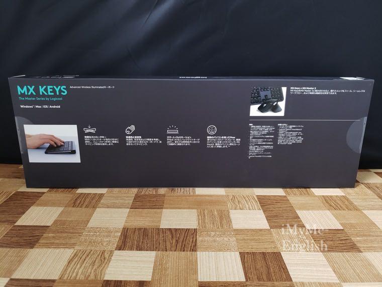 ロジクール ワイヤレスキーボード「KX800 MX KEYS」の写真2