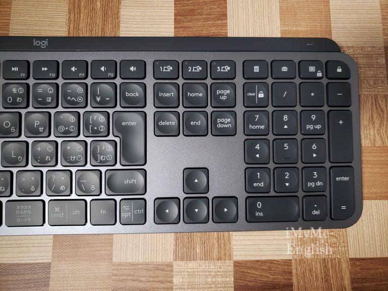 ロジクール ワイヤレスキーボード「KX800 MX KEYS」の写真20