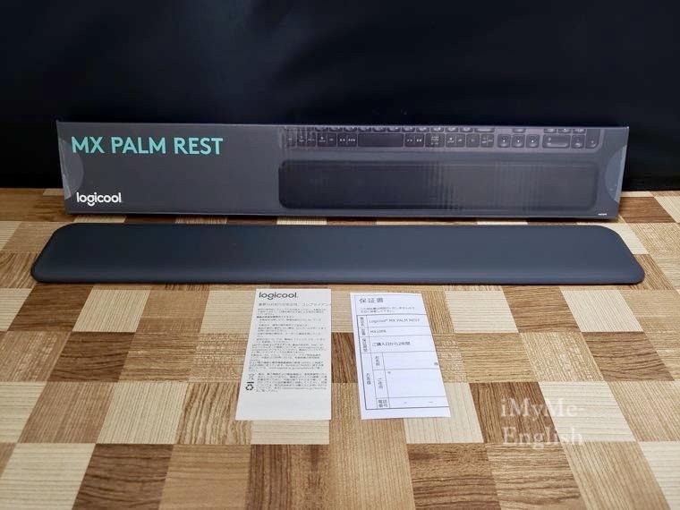 「ロジクール パームレスト MX10PR」の写真5