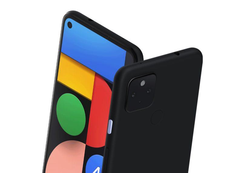 グーグル「Pixel 4a with 5G」の画像