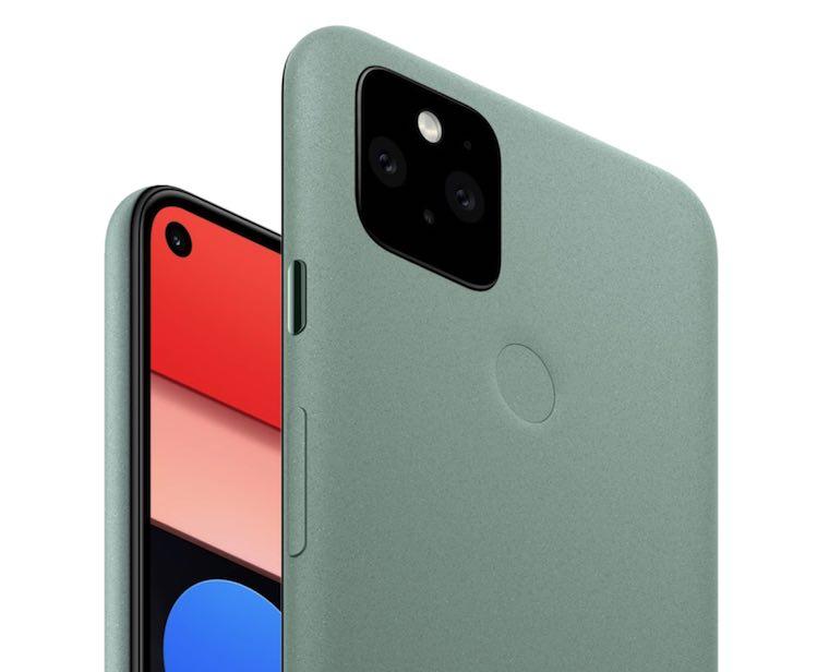 グーグル「Pixel 5」の画像