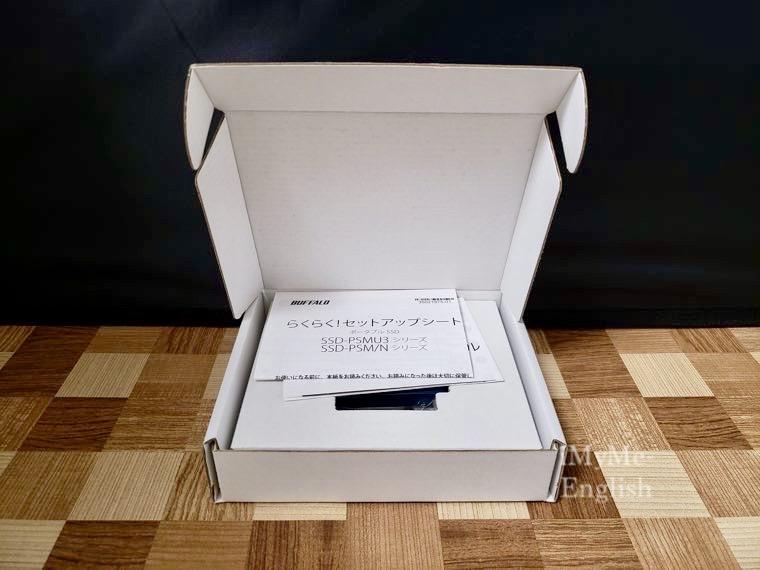 バッファロー「超小型SSD」の写真5