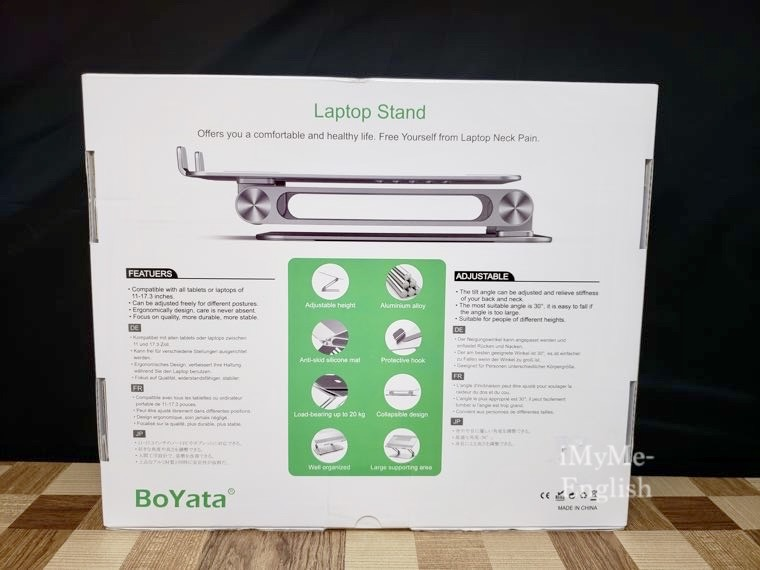 BoYata「ノートパソコン PCスタンド」の写真2
