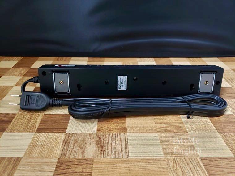 サンワサプライ 「雷ガードタップ 10個口 3m 」の写真 6 (TAP-SP2110-3BK)