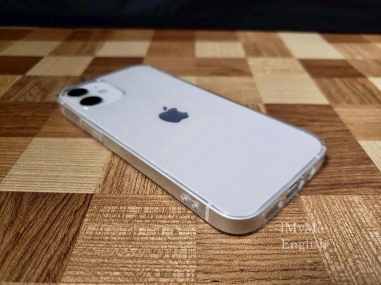 DAISO(ダイソー) iPhone 12 mini専用「保護ガラスフィルム、ソフトタイプクリアケース」の写真13