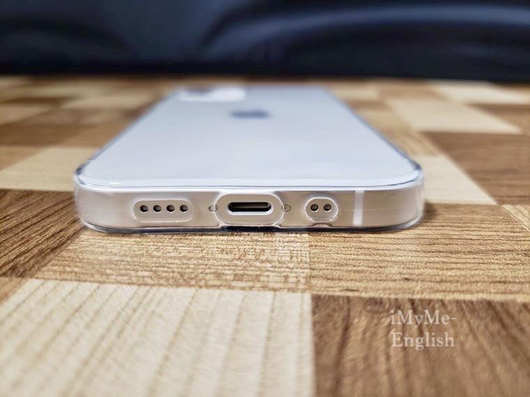 DAISO(ダイソー) iPhone 12 mini専用「保護ガラスフィルム、ソフトタイプクリアケース」の写真15
