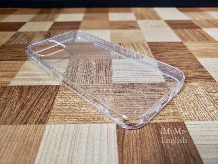 DAISO(ダイソー) iPhone 12 mini専用「保護ガラスフィルム、ソフトタイプクリアケース」の写真6