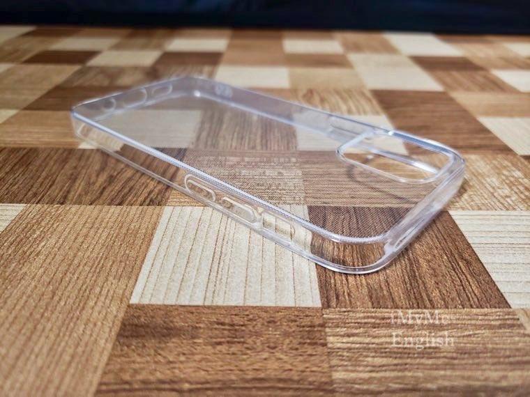 DAISO(ダイソー) iPhone 12 mini専用「保護ガラスフィルム、ソフトタイプクリアケース」の写真7
