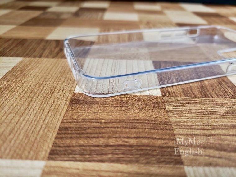 DAISO(ダイソー) iPhone 12 mini専用「保護ガラスフィルム、ソフトタイプクリアケース」の写真9