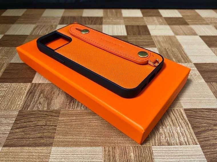 HANATORA「iPhone 12 mini ケース 本革 イタリア製サフィアーノ・レザー」の写真15