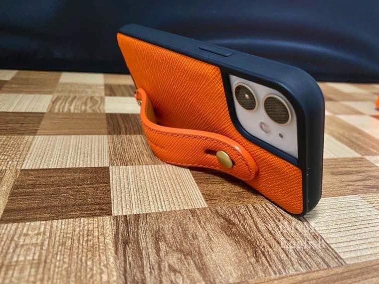 HANATORA「iPhone 12 mini ケース 本革 イタリア製サフィアーノ・レザー」の写真21