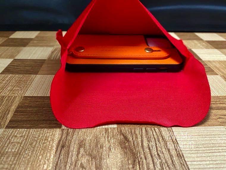 HANATORA「iPhone 12 mini ケース 本革 イタリア製サフィアーノ・レザー」の写真6
