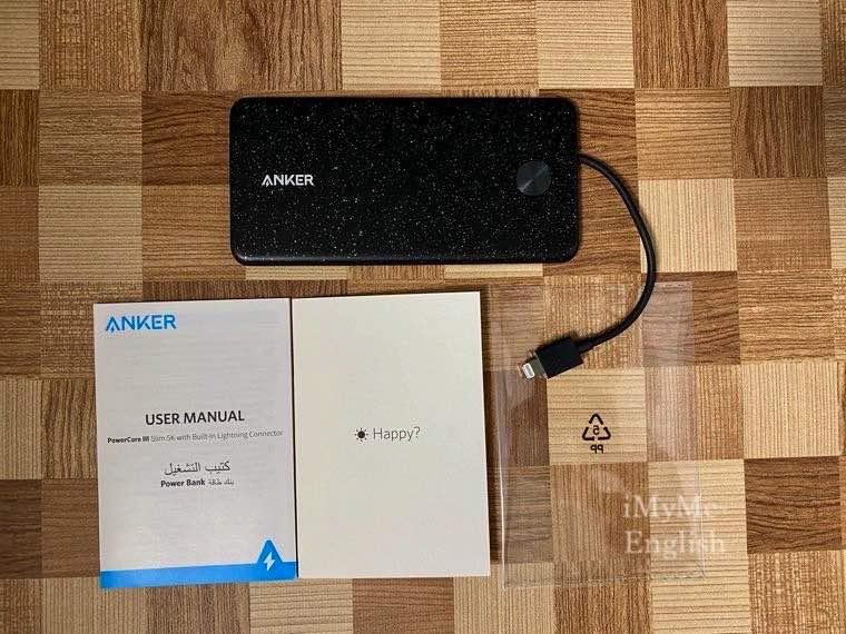 Anker「Anker PowerCore III Slim 5000」の写真3