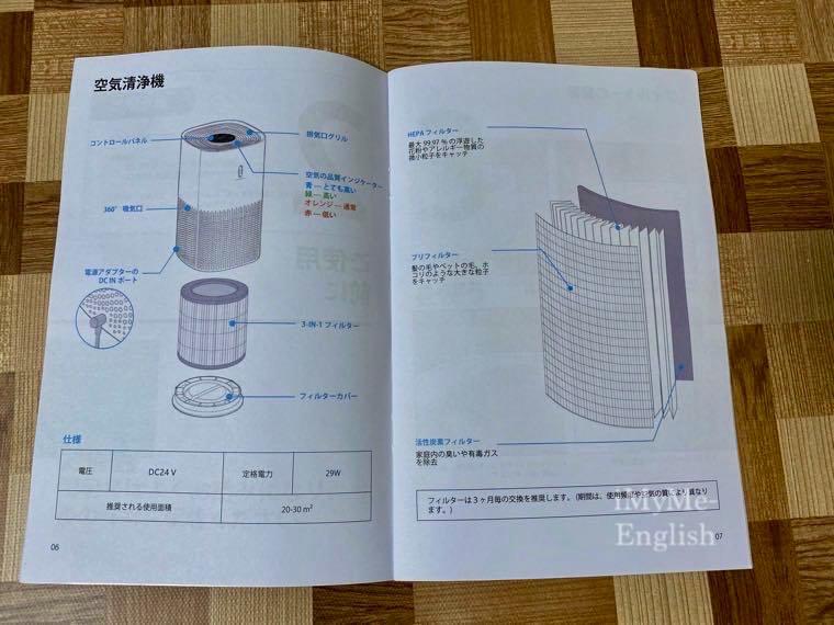 TaoTronics(タオトロニクス) 空気洗浄機「TT-AP005」の写真8