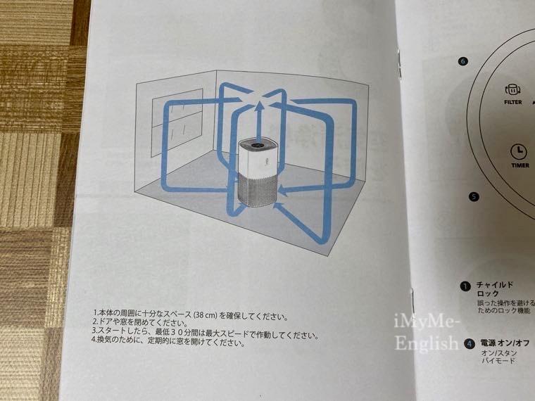 TaoTronics(タオトロニクス) 空気洗浄機「TT-AP005」の写真9
