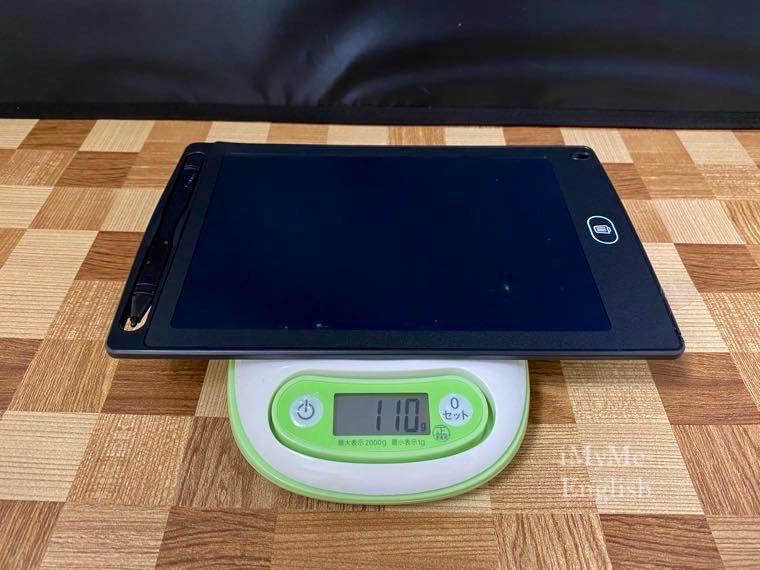 ダイソー「電子メモパッド 8.5インチ」の写真11