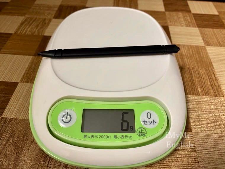 ダイソー「電子メモパッド 8.5インチ」の写真12
