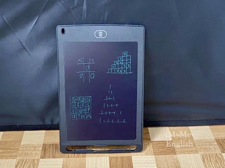ダイソー「電子メモパッド 8.5インチ」の写真13