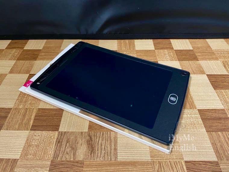 ダイソー「電子メモパッド 8.5インチ」の写真4