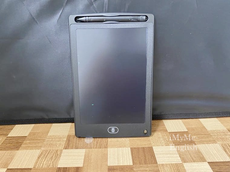 ダイソー「電子メモパッド 8.5インチ」の写真5