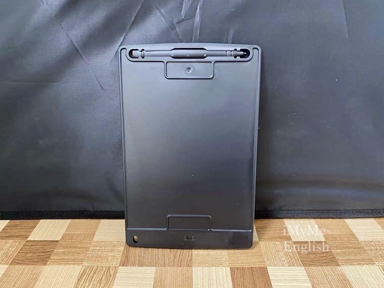 ダイソー「電子メモパッド 8.5インチ」の写真6