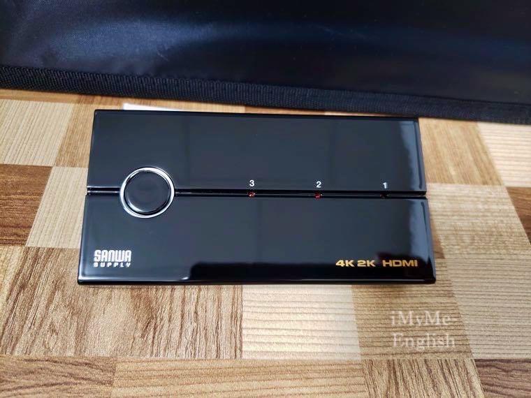 サンワサプライ HDMI切替機「400-SW019」の写真12