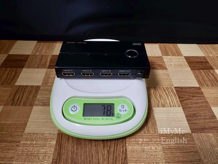 サンワサプライ HDMI切替機「400-SW019」の写真16