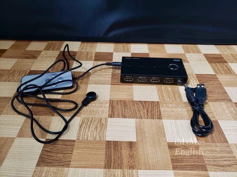 サンワサプライ HDMI切替機「400-SW019」の写真17