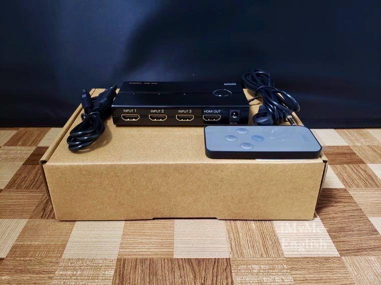 サンワサプライ HDMI切替機「400-SW019」の写真20