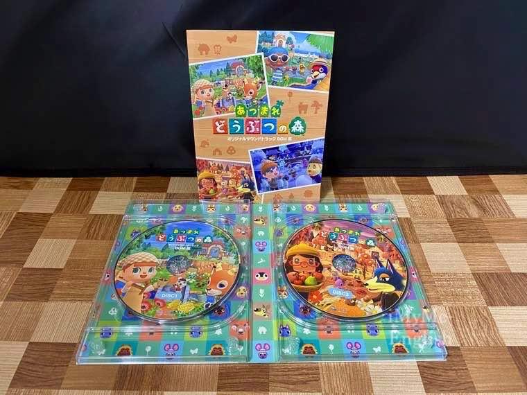 「あつまれ どうぶつの森 CD オリジナルサウンドトラック BGM集」の写真3