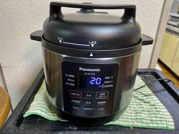 パナソニック 電気圧力鍋 (SR-MP300-K)の写真15