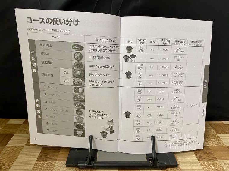 パナソニック 電気圧力鍋 (SR-MP300-K)の写真8