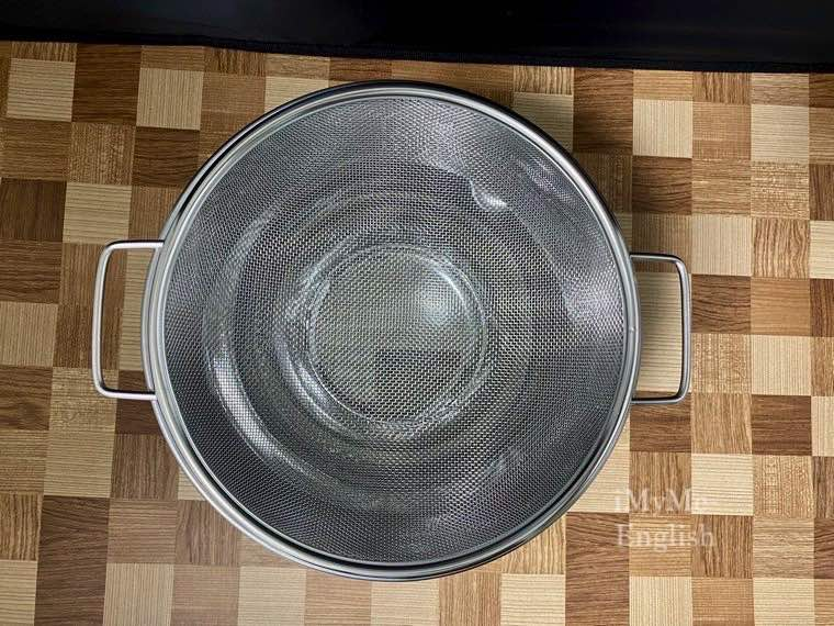 ヨシカワ「水切りしやすいザル・ボールセット」の写真10